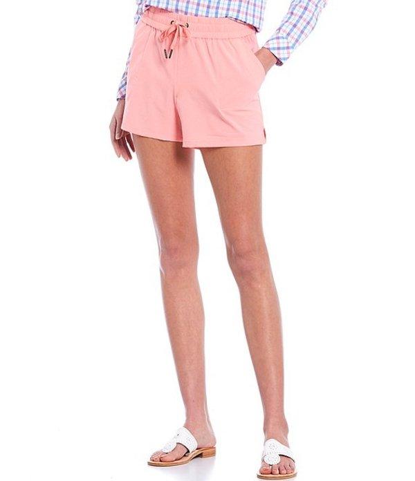サウザーンタイド レディース ハーフパンツ・ショーツ ボトムス Coastal Performance Drawstring Shorts Geranium Pink