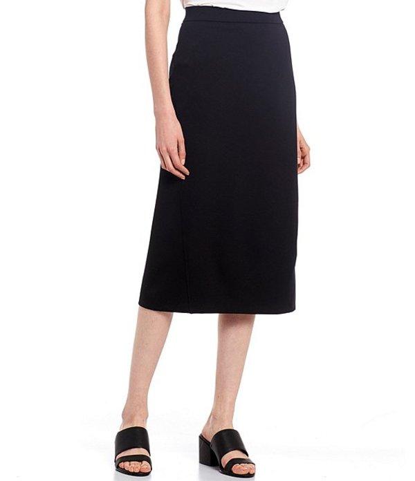 エイリーンフィッシャー レディース スカート ボトムス Flex Tencel Travel Ponte Pencil Skirt Black