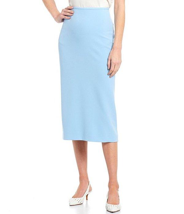 プレストンアンドヨーク レディース スカート ボトムス Taylor Stretch Crepe Suiting Midi Pencil Skirt Cashmere