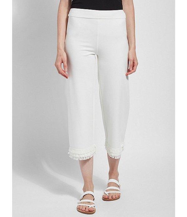 リジー レディース カジュアルパンツ ボトムス Maisie Crop Leggings Off White