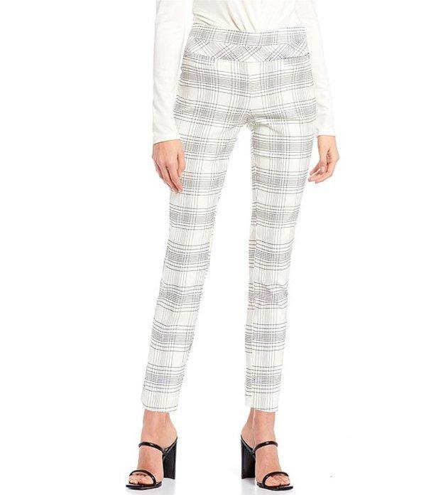 タカラ レディース カジュアルパンツ ボトムス Printed Skinny Pants White/Grey