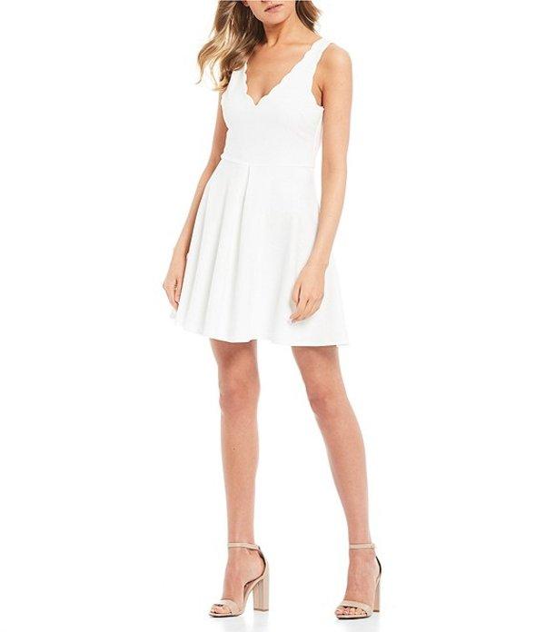 ビーダーリン レディース ワンピース トップス Sleeveless Tie-Back Fit & Flare Dress Off White