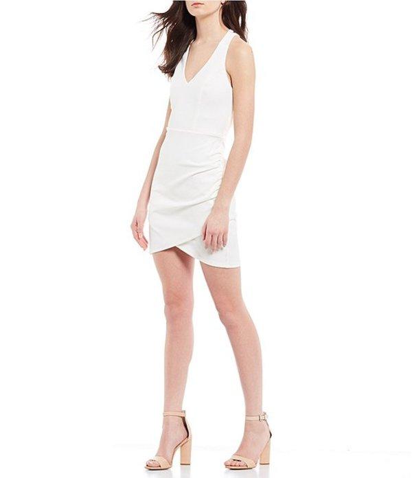 ミッドナイト ドール レディース ワンピース トップス X-Back Bodycon Dress Ivory