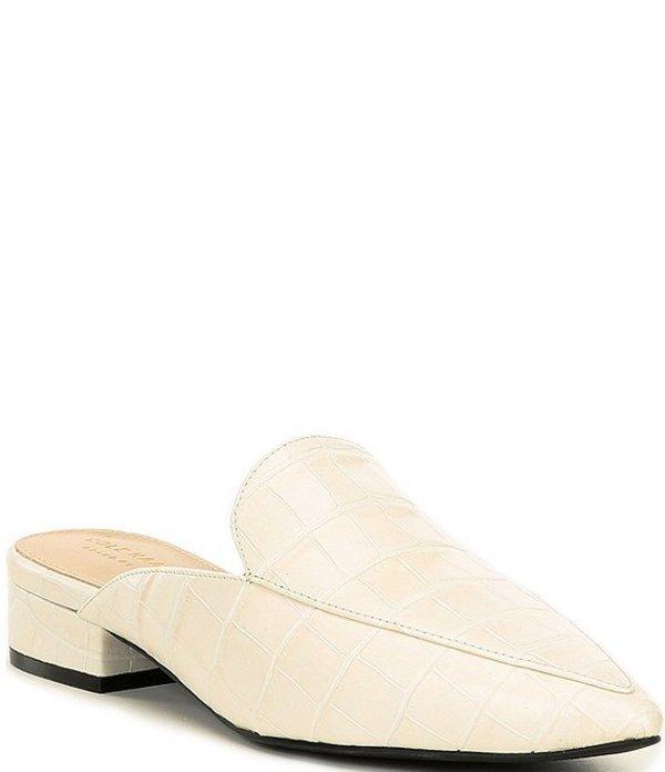 コールハーン レディース ヒール シューズ Piper Croc Block Heel Mules Pumice Stone