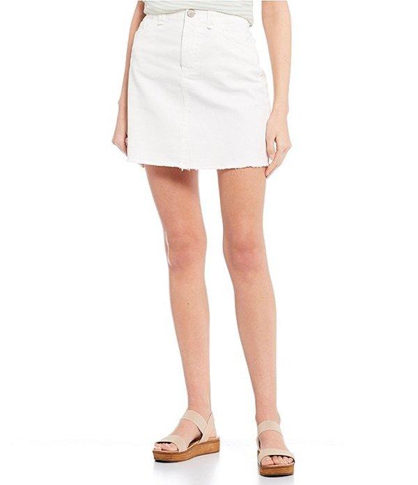 カッパーキー レディース スカート ボトムス A-Line Mini Skirt White
