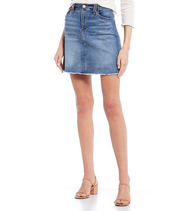 カッパーキー レディース スカート ボトムス Denim Mini Skirt Indigo