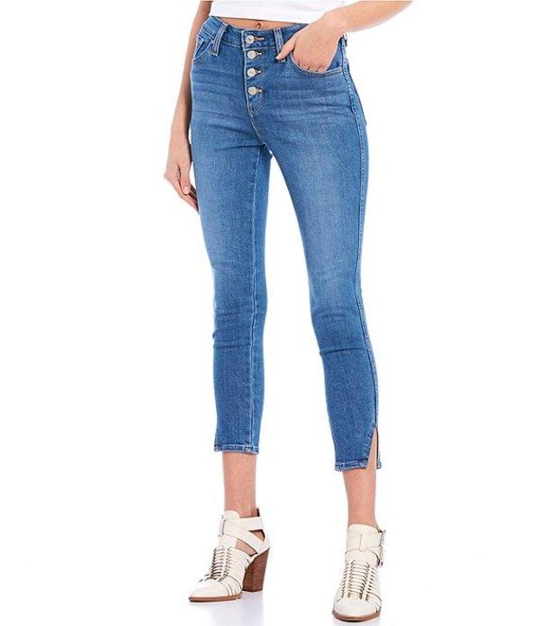 リーバイス レディース デニムパンツ ボトムス Levi'sR 721 High Rise Button Fly Ankle Skinny Jeans Back To Back