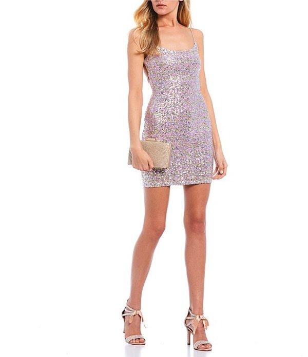 ビーダーリン レディース ハーフパンツ・ショーツ ボトムス Multi Sequin Slip Dress Lavender/Mint