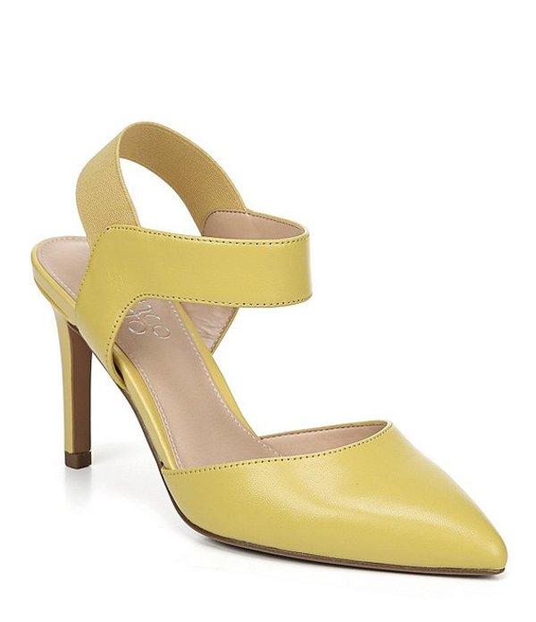 フランコサルト レディース ヒール シューズ Lima Leather d'Orsay Pumps Sunkiss Yellow