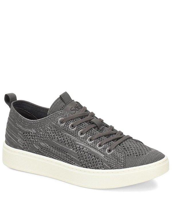 ソフト レディース スニーカー シューズ Somers Knit Mesh Lace Up Sneaker Grey