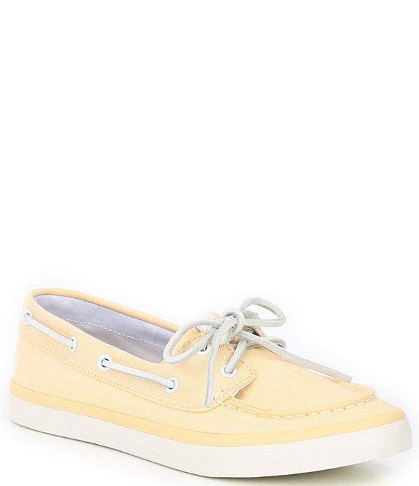 スペリー レディース デッキシューズ シューズ Sailor Boat Chambray Boat Shoes Yellow