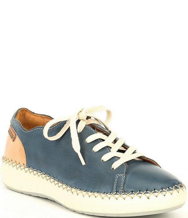 ピコリーノス レディース スニーカー シューズ Mesina Leather Sneakers Sapphire
