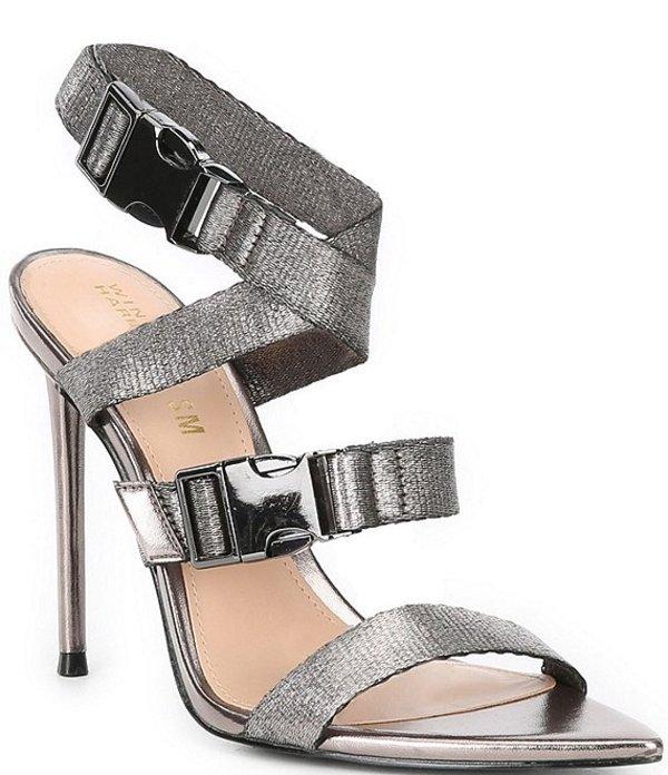 スティーブ マデン レディース サンダル シューズ x Winnie Harlow Rumpunch Dress Sandals Pewter