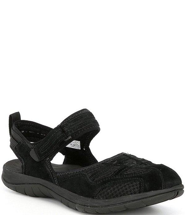 送料無料 サイズ交換無料 メレル レディース アウトレットセール 特集 シューズ サンダル Black 高級な Wrap Sandals Closed Toe 2 Hiking Siren