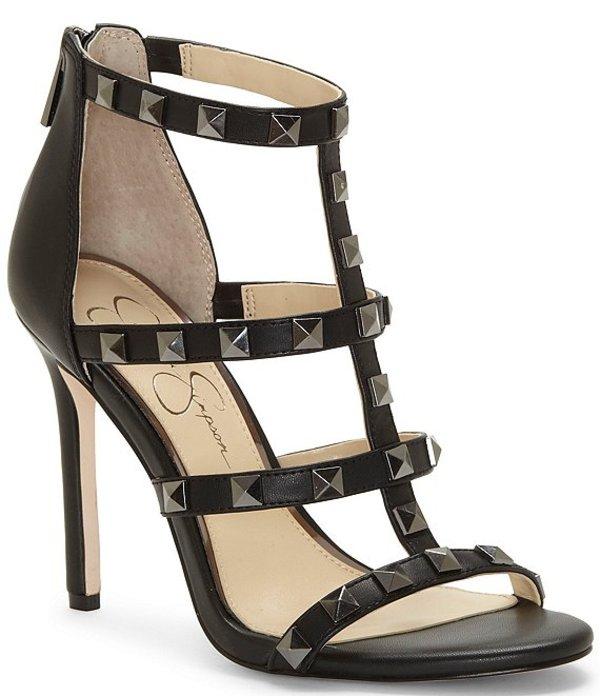 ジェシカシンプソン レディース サンダル シューズ Jiria Studded Dress Sandals Black