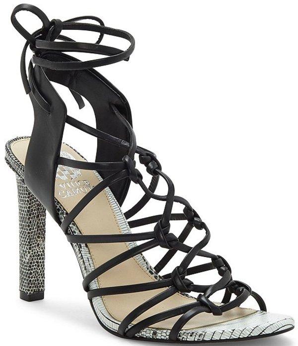 ヴィンスカムート レディース サンダル シューズ Sherinda Strappy Leather Dress Sandals Oxford