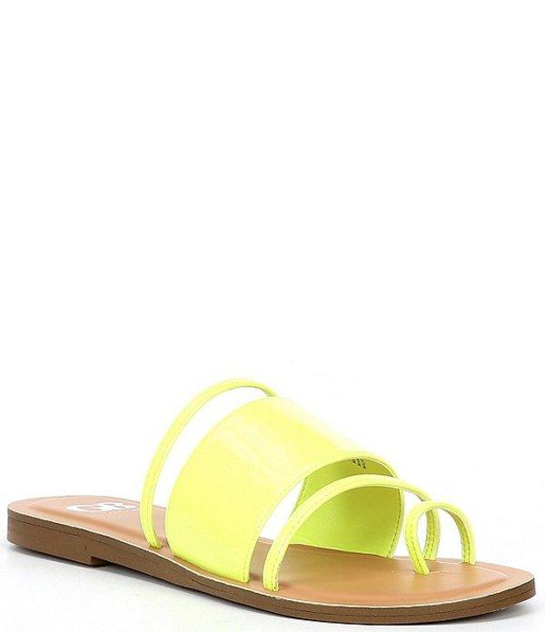 ジービー レディース サンダル シューズ Flour-Escent Neon Toe Loop Sandals Lunar Lime