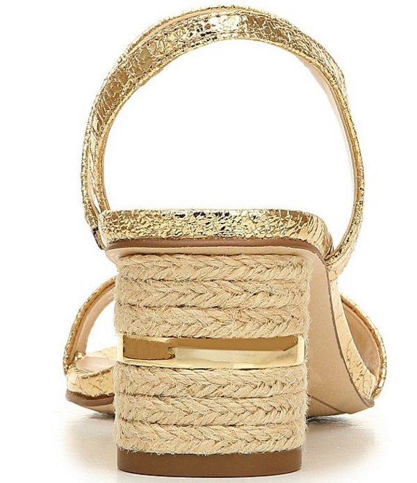 フランコサルト レディース サンダル シューズ Melody Metallic Dress Sandals Gold5L3R4Ajq