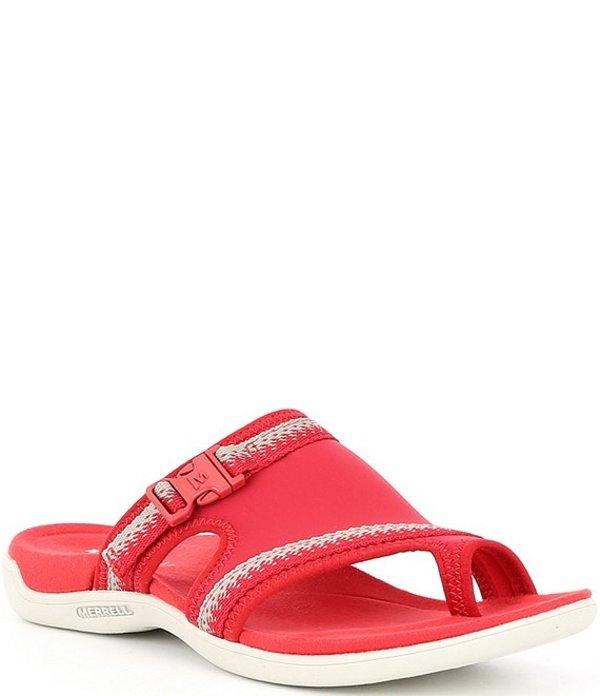 メレル レディース サンダル シューズ Women's District Muri Wrap Toe-Loop Sandals Chili