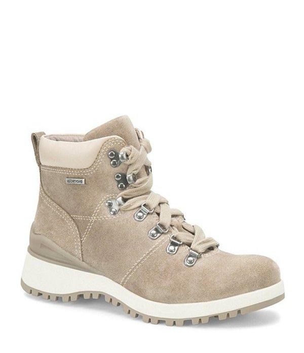 ビオニカ レディース サンダル シューズ Dalton Hiking Waterproof Suede Booties Light Grey/Cream