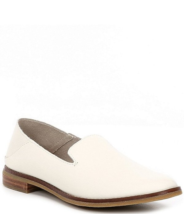スペリー レディース スリッポン・ローファー シューズ Seaport Levy Smooth Leather Loafers Ivory