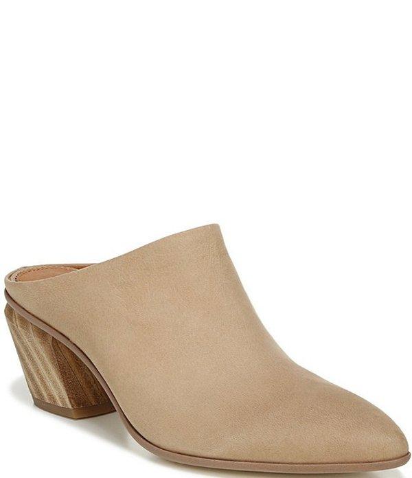 フランコサルト レディース サンダル シューズ Sarto By Franco Sarto Kirsten Leather Block Heel Booties Light Mocha