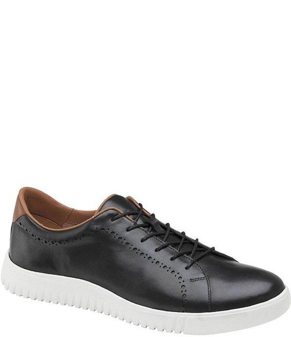 ジョンストンアンドマーフィー メンズ ドレスシューズ シューズ Men's McFarland Leather Sneakers Black