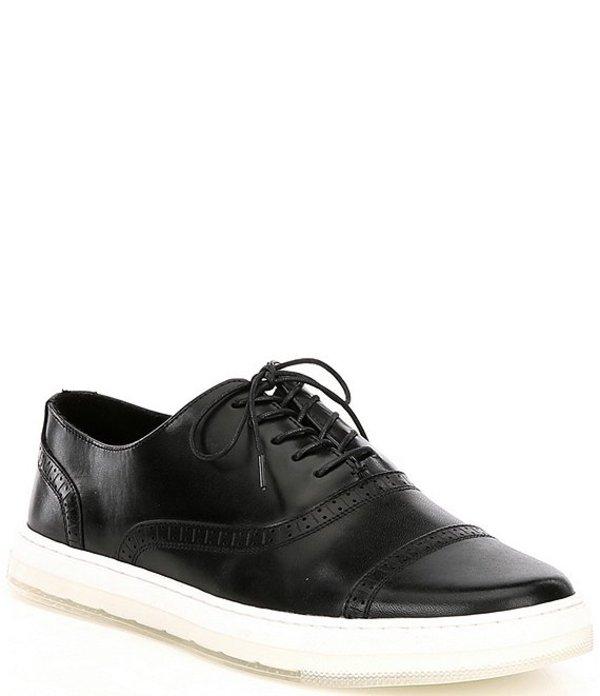 ケネスコール メンズ ドレスシューズ シューズ Men's Colvin 2.0 Leather Cap Toe Sneakers Black
