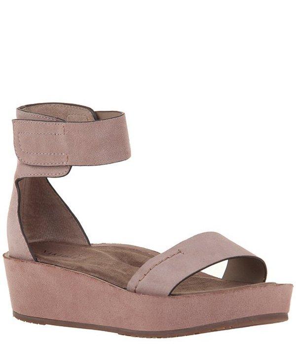 ネイキッドフィート レディース サンダル シューズ Renzi Suede Ankle Strap Platform Sandals Pecan