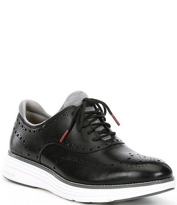 コールハーン メンズ ドレスシューズ シューズ Men's Original Grand Ultra Wingtip Shoes Black