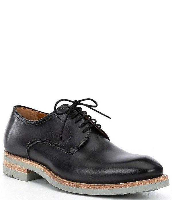 マグナーニ メンズ ドレスシューズ シューズ Men's Bolsena II Leather Plain Toe Oxfords Grey