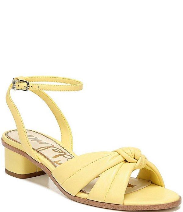 サムエデルマン レディース サンダル シューズ Ingrid Leather Dress Sandals Honeydew