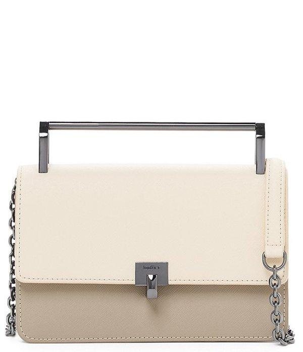 ボトキエ レディース ショルダーバッグ バッグ Lennox Top Handle Colorblock Small Crossbody Bag Cream/Multi