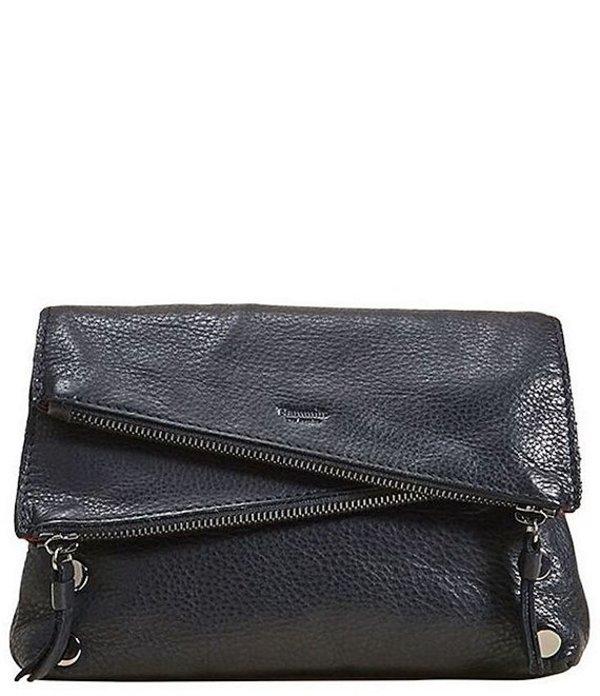 ハミット レディース ショルダーバッグ バッグ Dillon Small 6-Way Flap Crossbody Bag Black