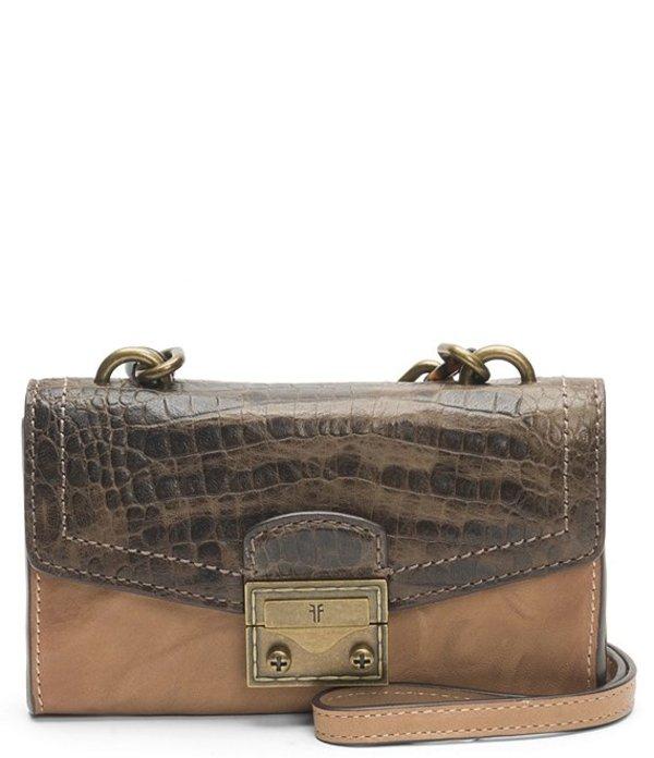 フライ レディース ショルダーバッグ バッグ Ella Phone Crossbody Bag Beige Multi