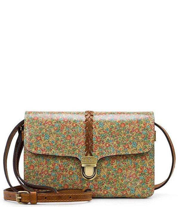 パトリシアナシュ レディース ショルダーバッグ バッグ Fleuriste Collection Bianco Crossbody Bag Coral Bouquet
