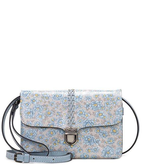 パトリシアナシュ レディース ショルダーバッグ バッグ Fleuriste Collection Bianco Crossbody Bag Pastel Turqouise