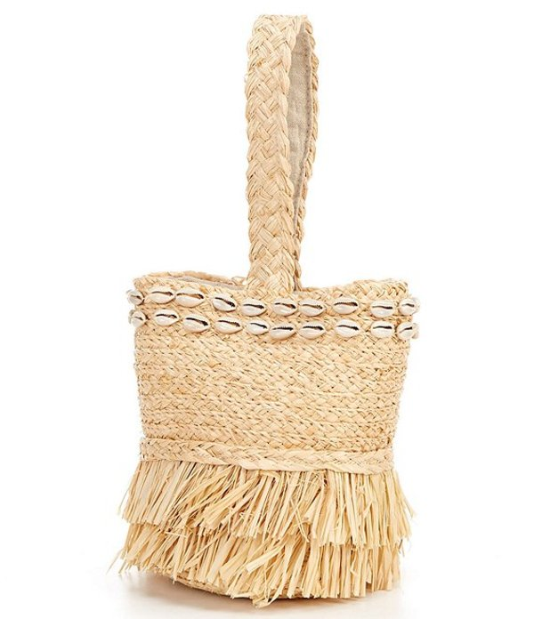 ハットアタック レディース ハンドバッグ バッグ Shell Trinket Satchel Bag Tan