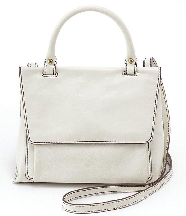 ホボ レディース ショルダーバッグ バッグ Meter Leather Top Handle Crossbody Bag Latte