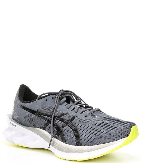 アシックス メンズ スニーカー シューズ Men's NovaBLAST Running Shoe Sheet Rock/Black