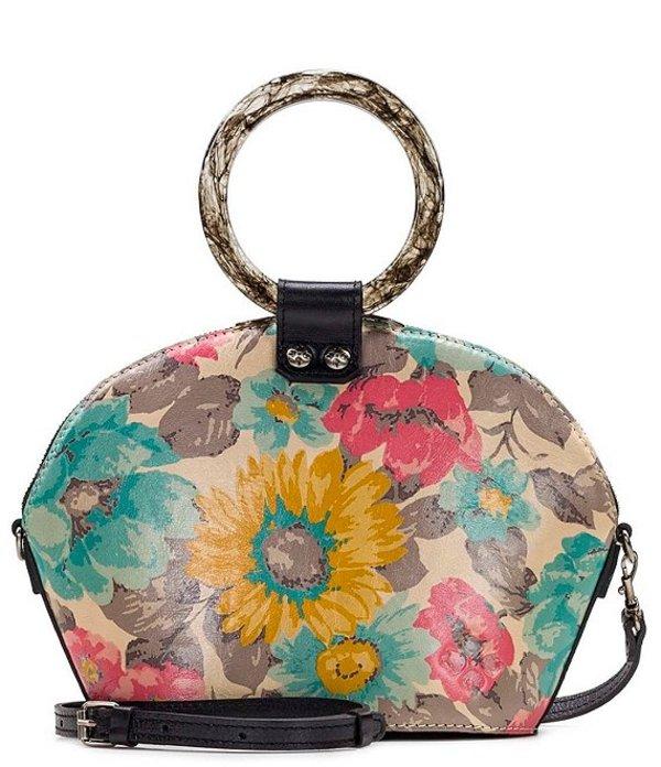 パトリシアナシュ レディース ハンドバッグ バッグ First Bloom Collection Mellini Satchel Bag First Bloom