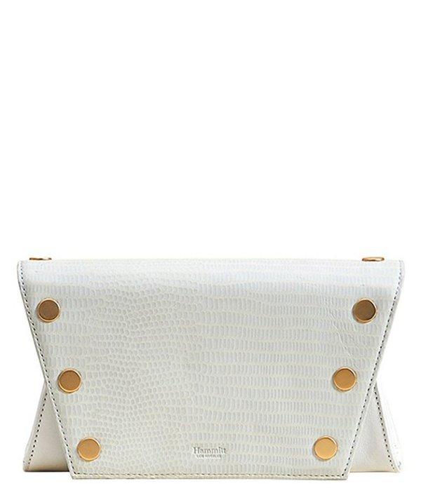ハミット レディース ショルダーバッグ バッグ Roger Small Leather Convertible Crossbody Bag Ceramic White