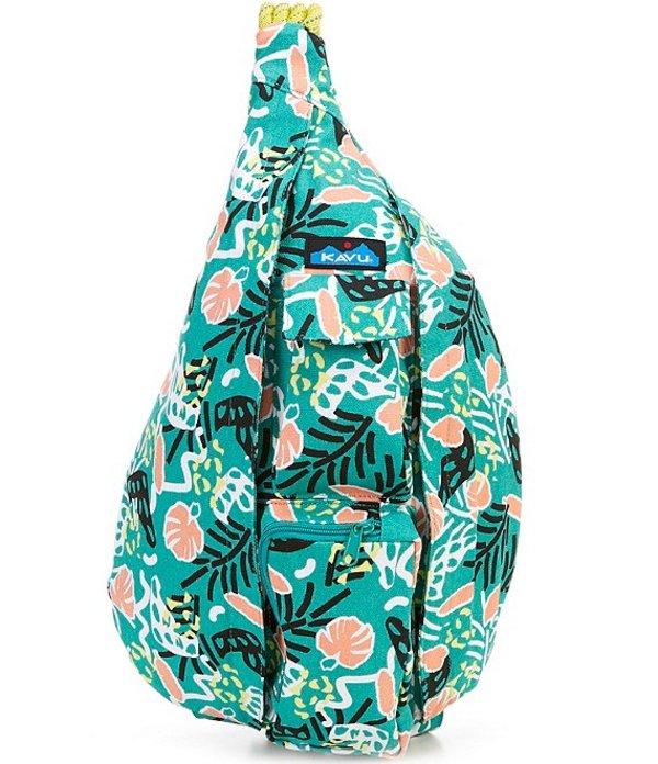 カブー レディース バックパック・リュックサック バッグ Printed Rope Messenger Bag Jungle Party