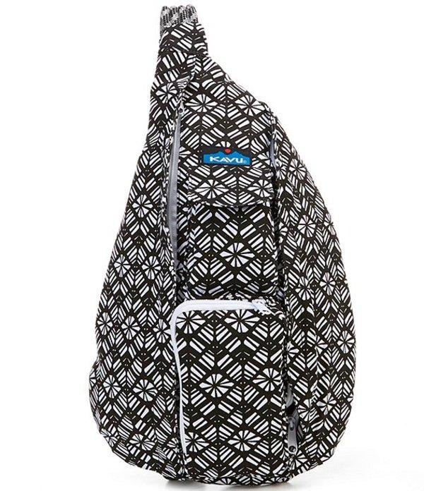 カブー レディース バックパック・リュックサック バッグ Printed Rope Messenger Bag Static Rhombus