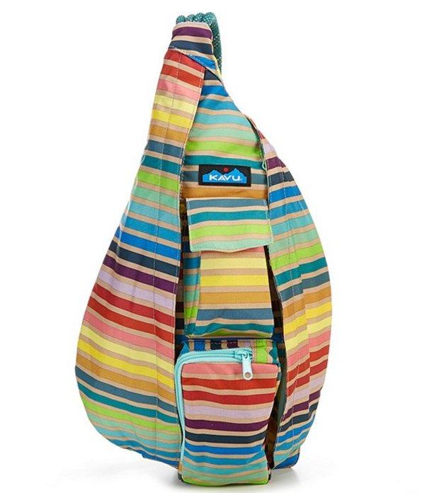 カブー レディース バックパック・リュックサック バッグ Rope Printed Polyester Sling Bag Summer Stripe