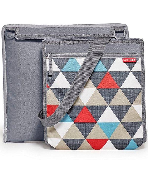 スキップホップ レディース ハンドバッグ バッグ Central Park Triangles Outdoor Blanket & Cooler Bag Multi