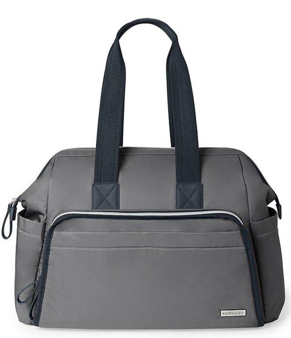 スキップホップ レディース ハンドバッグ バッグ Mainframe Satchel Bag Grey