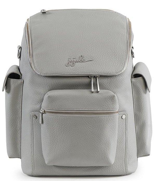 ジュジュビー レディース ハンドバッグ バッグ Forever Backpack Faux Leather Diaper Backpack Stone
