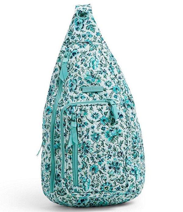 ベラブラッドリー レディース ハンドバッグ バッグ Iconic Sling Backpack Cloud Vine