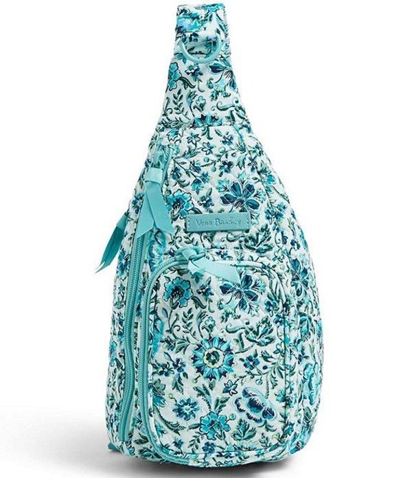 ベラブラッドリー レディース ハンドバッグ バッグ Iconic Mini Sling Backpack Cloud Vine